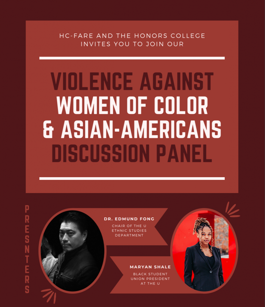 Violence Against women of color and asian-americans discussion panel